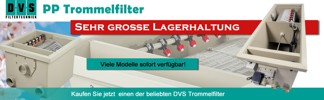 PP-Trommelfilter bei atf