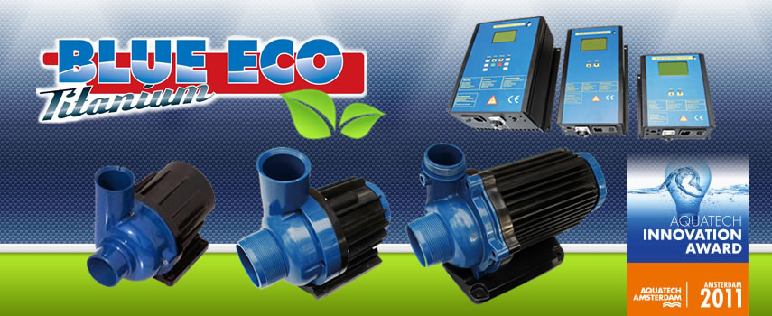 Blue Eco die regelbaren Teichpumpen, Innovation Award 2011