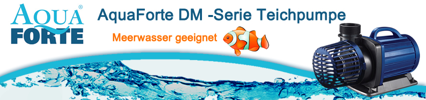 AquaForte DM-Serie Teichpumpe, auch Meerwasser geeignet